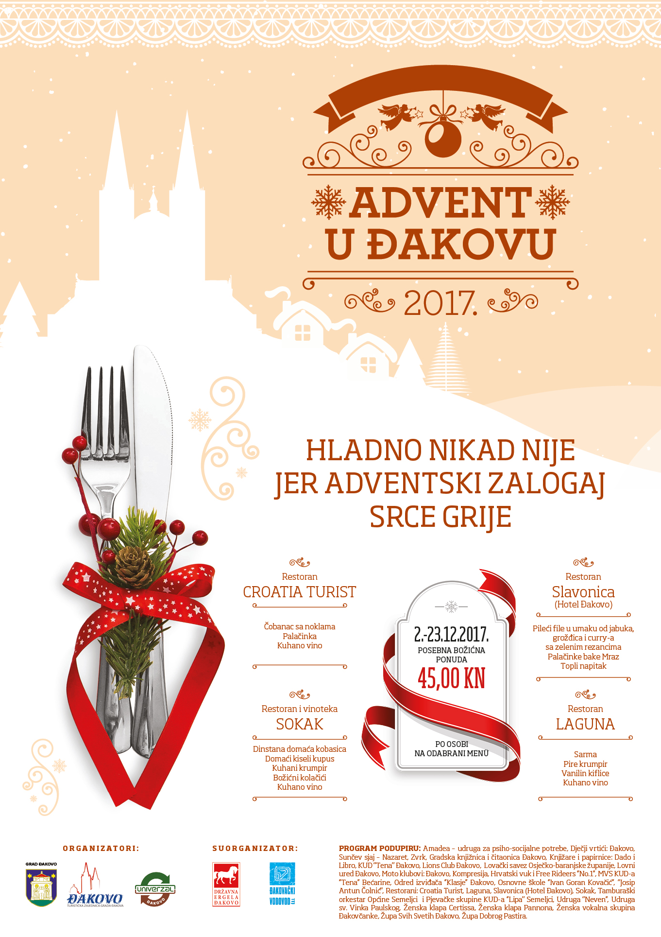 Advent u Đakovu restorani